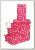 Коробка подарочная Прямоугольник 'Мороженое' 26 * 16 * 6 см