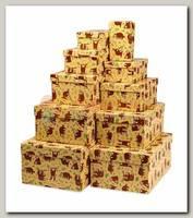 Коробка подарочная Прямоугольник 'Ленивец' 23,5 * 15,5 * 10 см