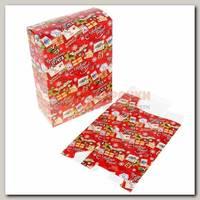 Коробка сборная 'Новогодняя посылка'
