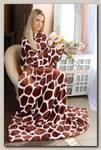 Плед с рукавами 'Жираф' 140*180 см