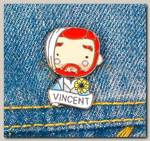 Значок 'Винсент Ван Гог' металл