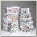 Коробка подарочная 'Акварельная' 36,5 х 22 х 13,5 см