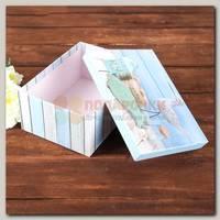 Коробка подарочная Прямоугольник 'Море' 19 * 13 * 7 см