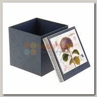 Коробка подарочная 'Куб' Цветок большая