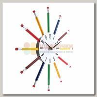 Часы настенные 'Лучики-карандашики'