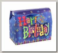 Коробка-сундучок С днем рождения L