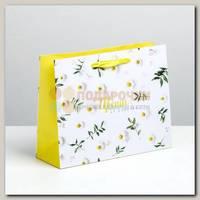 Пакет 'Цвети от счастья' MS 23 * 8 * 18 см