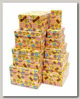 Коробка подарочная Прямоугольник 'Вкусняшки' 13,5 * 8 * 5 см