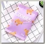 Кошелек 'Cookies' 9 * 13 см фиолетовый