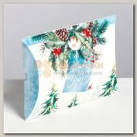 Коробка сборная 'Для тебя в новый год' 11 * 8 * 2 см