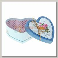 Коробка подарочная 'Сердце. Розы'