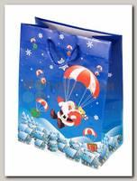 Пакет 'Санта с парашютом' MS 18 * 23см