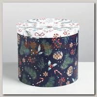 Коробка подарочная 'Волшебства' Цилиндр 19,5 * 22 см
