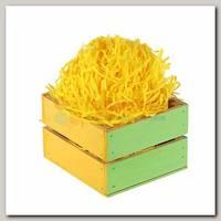 Наполнитель декоративный бумажный Желтый 100 гр