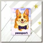 Обложка на паспорт 'Корги' ПВХ