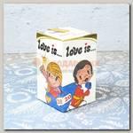 Набор конфет Love is.. Новый год (124 гр)