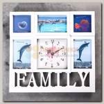 Фоточасы 'Family' Квадрат
