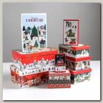 Коробка подарочная 'Новогодние истории' 28 х 18.5 х 11.5 см