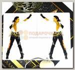 Обложка на паспорт 'Майкл Джексон' пвх