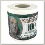 Туалетная бумага '100 долларов'