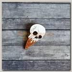 Значок 'Мороженое' Череп дерево