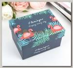 Коробка подарочная 'Фламинго'