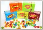 Жвачка 'Love is...' блок 100 шт