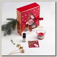 Подарочный набор 'Тепла и уюта' свеча с аромадиффузором