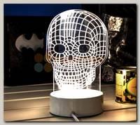 3D Светильник 'Череп'