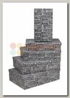 Коробка подарочная Прямоугольник 'Пожелания' 34 * 22 * 7 см
