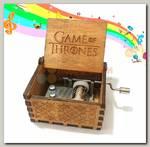 Музыкальная шкатулка 'Игра престолов'