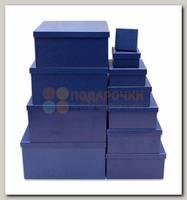 Коробка подарочная Квадрат 'Кобальт' 25,5 * 25,5 * 13 см
