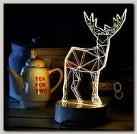 3D Светильник 'Олень'