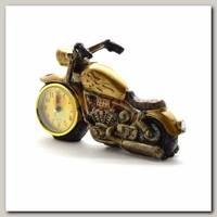 Часы настольные 'Мотоцикл' ретро