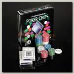 Набор для покера 100 фишек в жестяной коробке