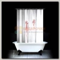 Шторка для ванной 'Кровавая'