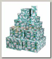 Коробка подарочная Прямоугольник 'Котята' 28,5 * 18,5 * 12 см