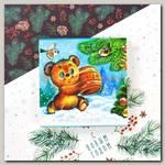 Шокобокс 'С новым годом! Из СССР' Мишка с медом