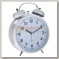 Часы будильник 'Гигант' (белый)