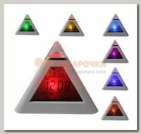 Часы будильник 'Пирамида'