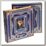 Родословная книга с фоторамкой 'Семья' (синяя)