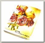 Обложка на паспорт 'Розы'