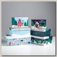 Коробка подарочная 'Персонажи' 32.5 х 20 х 12.5 см