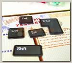 Набор магнитов 'Кнопки клавиатуры'