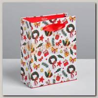 Пакет 'Подарки Новый Год' S 12 * 15 * 5.5 см