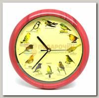 Часы настенные 'Птичьи трели'