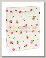 Пакет 'Розовые цветочки' MS 18 * 23* 10 см