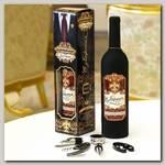 Набор для вина бутылка 'С уважением'