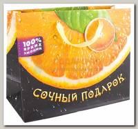 Пакет Сочный подарок апельсин гориз ML