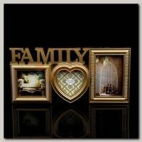 Фоторамка 'Family' золото